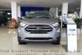 Giao ngay Ford Ecosport Titanium 1.5L đời 2018, màu xám, 648 triệu có thể thương lượng, hỗ trợ trả góp giá 648 triệu tại Hà Nội