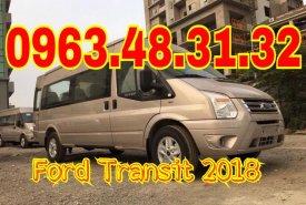 Bán ô tô Ford Transit năm 2018, màu vàng, 810 triệu, hỗ trợ trả góp, giá xe thương lượng giá 810 triệu tại Hà Nội