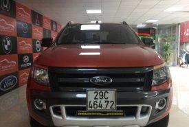 Bán Ford Ranger Wildtrak 3.2 đời 2015, màu đỏ giá 670 triệu tại Hà Nội