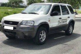 Bán Ford Escape đời 2002, màu trắng số tự động giá 167 triệu tại Tp.HCM
