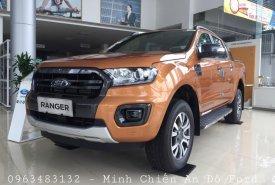 Giao ngay Ford Ranger Wildtrak 2.0L Biturbo 4x4 AT màu vàng Saber, hỗ trợ thủ tục trả góp giá 918 triệu tại Hà Nội
