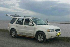 Chính chủ bán Ford Escape 2002, màu trắng, xe nhập giá 195 triệu tại Tp.HCM