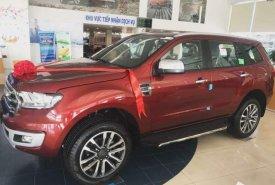 Bán Ford Everest sản xuất năm 2019, màu đỏ, nhập khẩu giá 1 tỷ 112 tr tại Hà Nội