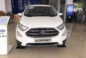 Cần bán xe Ford EcoSport Titanium 1.0L Ecoboost đời 2019, màu trắng, 665tr giá 665 triệu tại Hà Nội