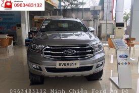 Đại lý xe Ford bán Everest Titanium 2.0L 4x2 AT màu bạc, giao xe ngay, hỗ trợ trả góp 80%  giá 1 tỷ 177 tr tại Hà Nội