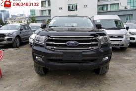 Đại lý bán xe Ford Everest Ambiente 2.0L AT 4x2 Màu Đen, SUV 7 chỗ nhập khẩu Thái Lan  giá 1 tỷ 52 tr tại Hà Nội