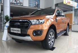 Bán xe Ford Ranger Wildtrak 2.0L Biturbo 4x4 AT đời 2019, nhập khẩu Thái Lan, hỗ trợ trả góp tại Bắc Giang giá 898 triệu tại Bắc Giang