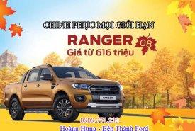 Bán xe Ford Ranger tặng tiền mặt, nắp thùng, BHVC phim giá 616 triệu tại Tp.HCM