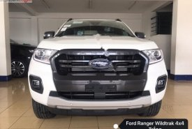 Bán ô tô Ford Ranger Wildtrak 2.0L 4x4 AT 2019, màu trắng, xe nhập, giá 880tr giá 880 triệu tại Hà Nội