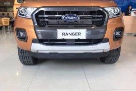 Bán xe Ford Ranger Wildtrak 4x4 Bi-turbo 2.0L Sản xuất 2019, màu cam, xe nhập, giá tốt nhất. giá 868 triệu tại Hà Nội