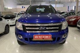 Bán Ford Ranger 2.2XLT 2012, màu xanh lam, nhập khẩu nguyên chiếc giá 425 triệu tại Phú Thọ