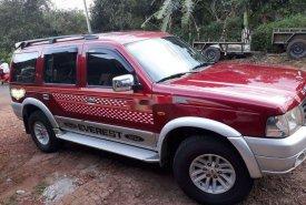 Bán Ford Everest đời 2005, màu đỏ, xe nhập, giá chỉ 255 triệu giá 255 triệu tại Đắk Lắk