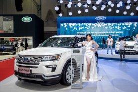 Bán Ford Explorer đời 2019, màu trắng, nhập khẩu giá 0 triệu tại Tp.HCM