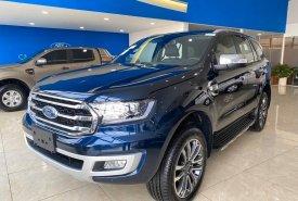 Cần bán Ford Everest 2.0L Titanium 4x4 đời 2020, màu xanh lam, nhập khẩu chính hãng giá 1 tỷ 320 tr tại Tp.HCM