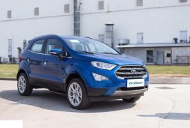 Bán ô tô Ford EcoSport 1.5L Titanium đời 2020, màu xanh lam giá 605 triệu tại Tp.HCM