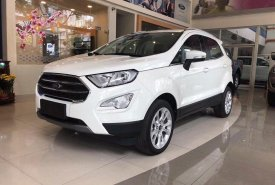 Cần bán Ford EcoSport 1.5L Titanium đời 2020, màu trắng giá 605 triệu tại Tp.HCM