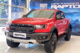 Bán Ford Ranger Raptor mới 2020, màu đỏ, nhập khẩu nguyên chiếc, giá tốt cạnh tranh giá 1 tỷ 170 tr tại Tp.HCM